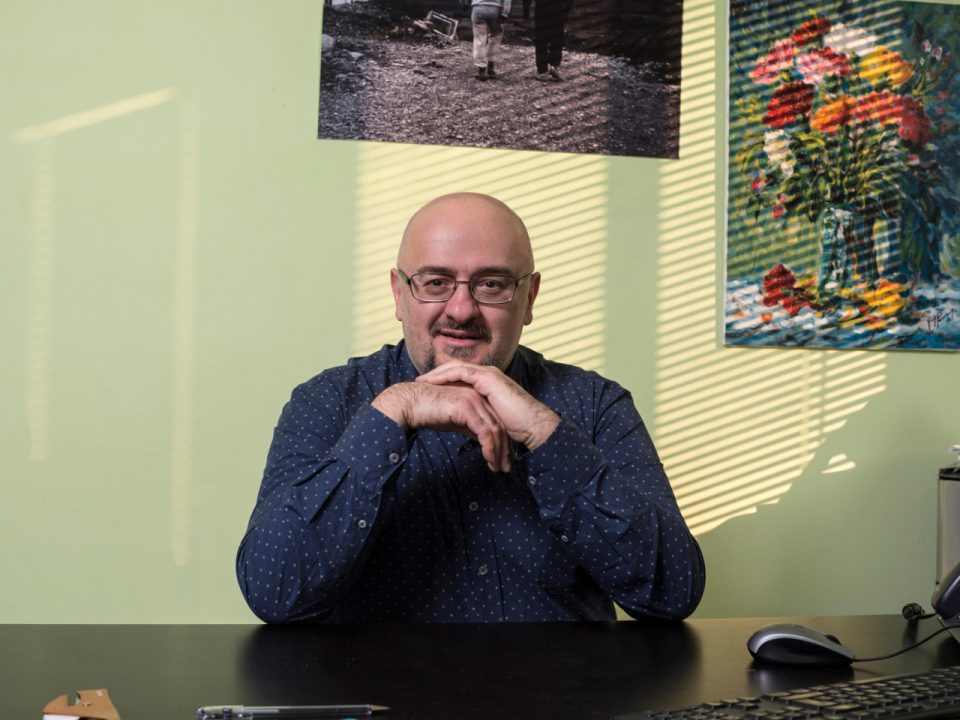 Cristian Tamagnini presidente Cooperativa Sociale Cento Fiori