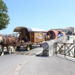 I carri del Cirque BIdon sul ponte di Tiberio
