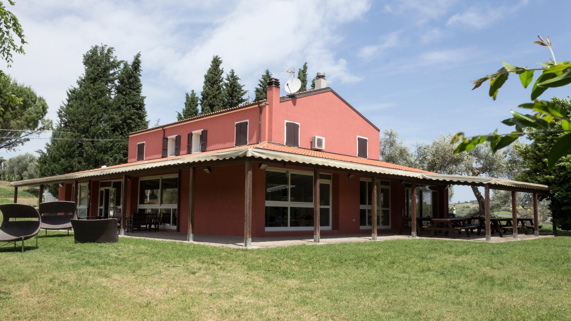 La sede della Comunità Terapeutica di Vallecchio