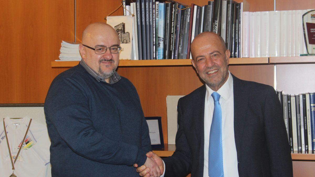 Cristian Tamagnini e Bruno Tani, ad di Gruppo SGR Rimini