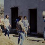 Sergio Semprini Cesari: pausa gioco durante la costruzione della Comunità Terapeutica di Vallecchio