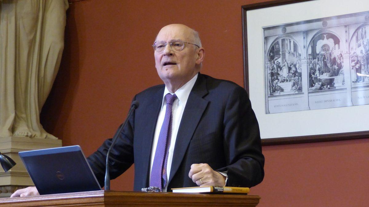 Stefano Zamagni, economista, presidente della Pontificia accademia delle Scienze sociali