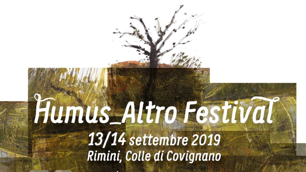 Locandina Humus Altro Festival Rimini