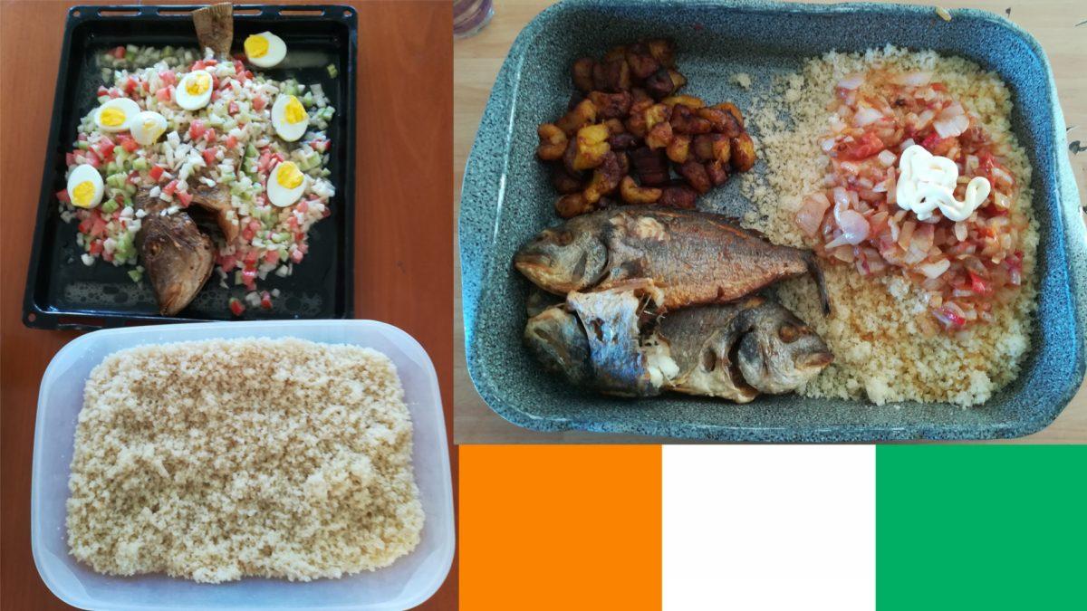 Attieké, piatto della Costa d'Avorio