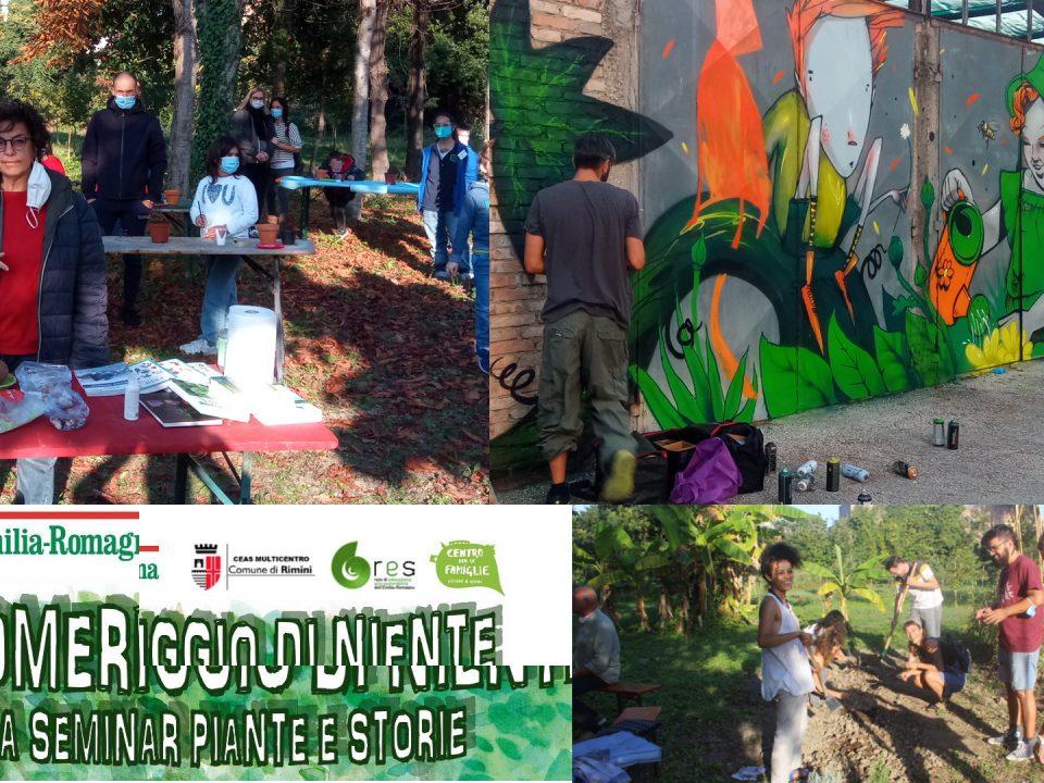 Collage di eventi a La Serra Cento Fiori